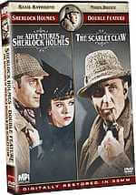 Adventures of Sherlock - Scarlet Claw - Basil Rathbone DVD