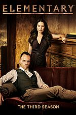 Elementary: The Third Season Starring Jonny Lee Miller (DVD)