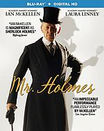 Mr. Holmes Starring Ian McKellen (DVD / Blu-ray)