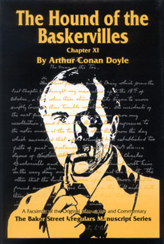 Hound of the Baskervilles Manuscript Facsimile Cover