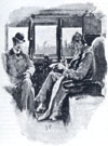Sidney Paget drawing for The Boscombe Valley Mystery