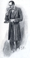 Sidney Paget drawing for the Resident Patient