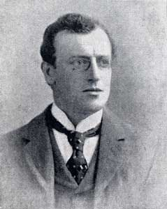 Photo of Sidney Paget circa 1895